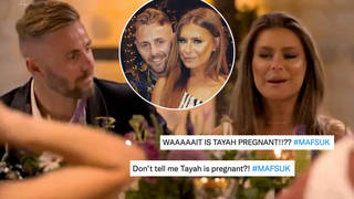 Married at First Sight fans are guessing Tayah is expecting a baby