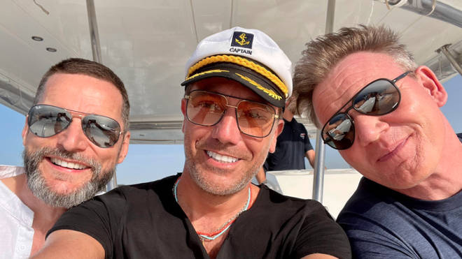 Gordon, Gino and Fred have returned for a new series of their road trip