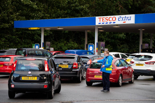 Petrol stations have been running out of fuel