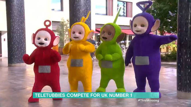 The Teletubbies are releasing an album