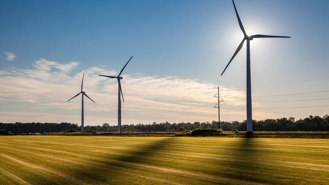 Using renewable energy can be one way for a business to become more sustainable