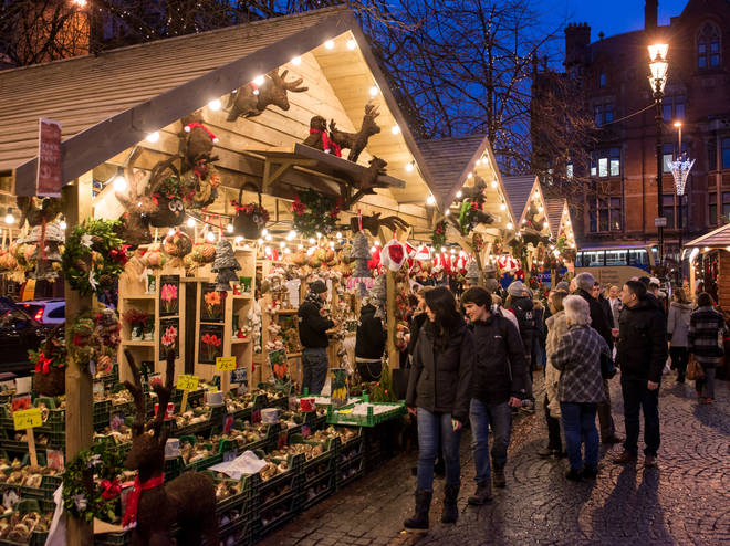 Shop all your stocking fillers at Manchester's Christmas Market, returning this year