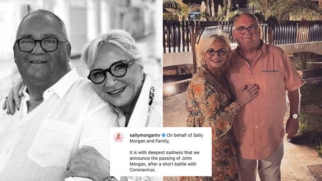 Sally Morgan has paid tribute to her husband after his sad death