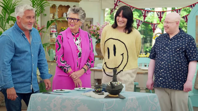 The bakers will need to impress Prue and Paul with their biscuit creations