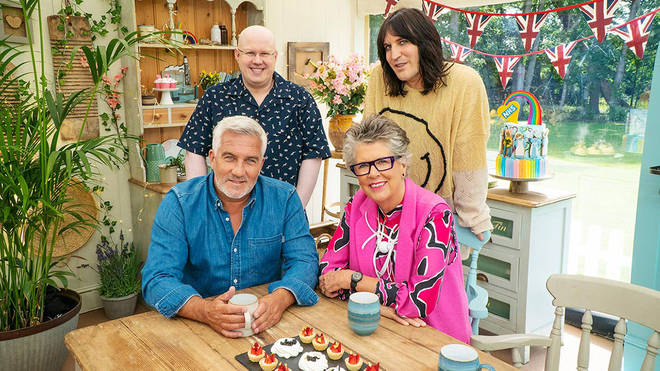 The Bake Off judges are back