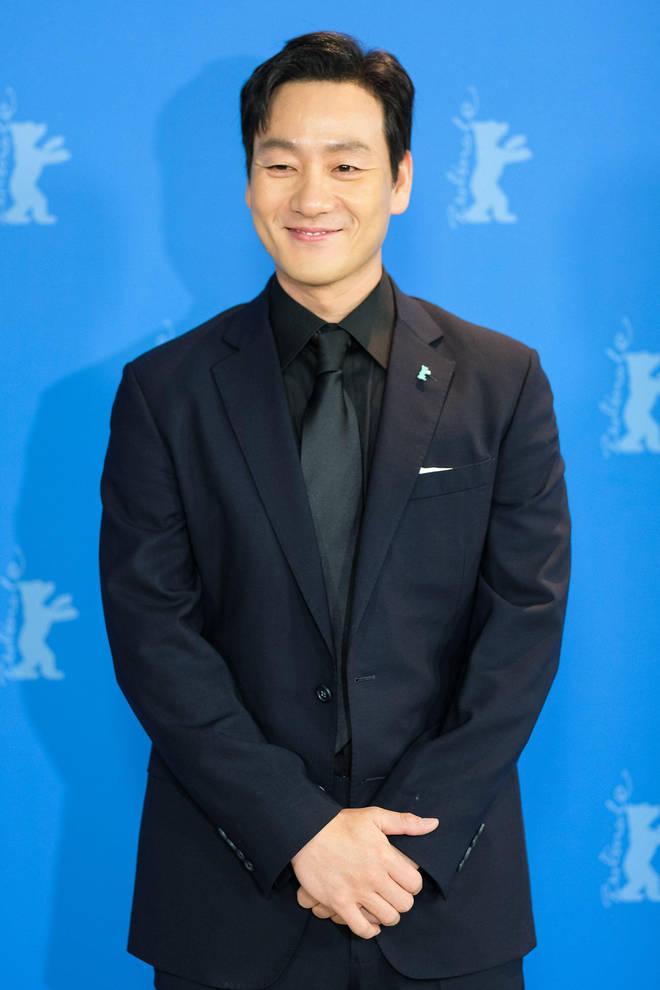 Park Hae-soo plays Sang Woo