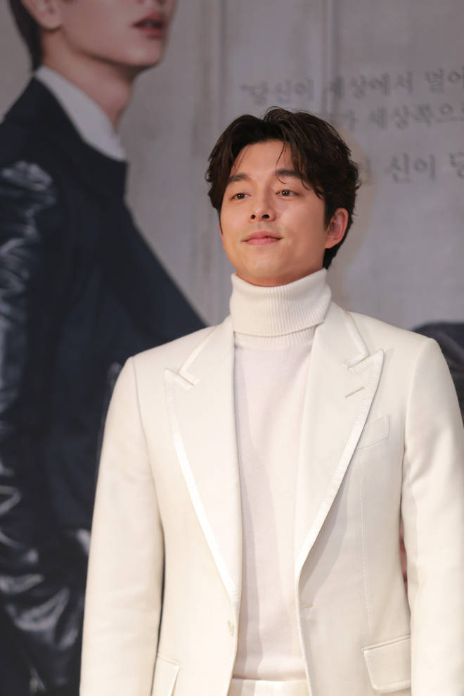Gong Yoo plays the Salesman