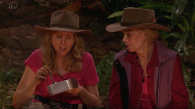 Gillian McKeith eats rice and beans