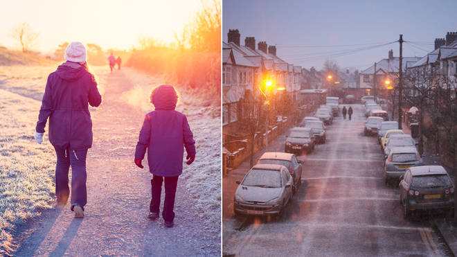 Snow could hit the UK within days this autumn