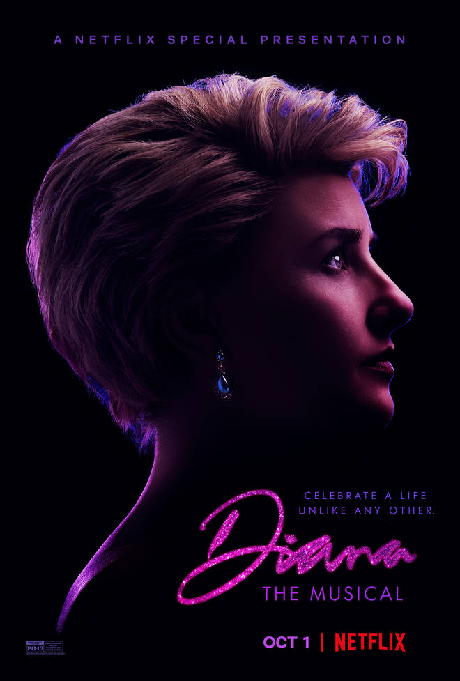 You can watch Diana: the Musical from October 1