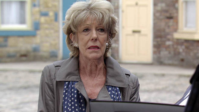 Audrey Roberts in a Coronation Street legend