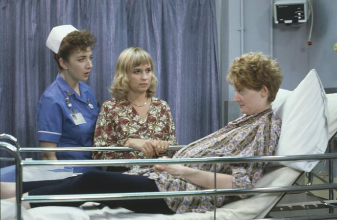 Susan Penhaligon starred in Casualty