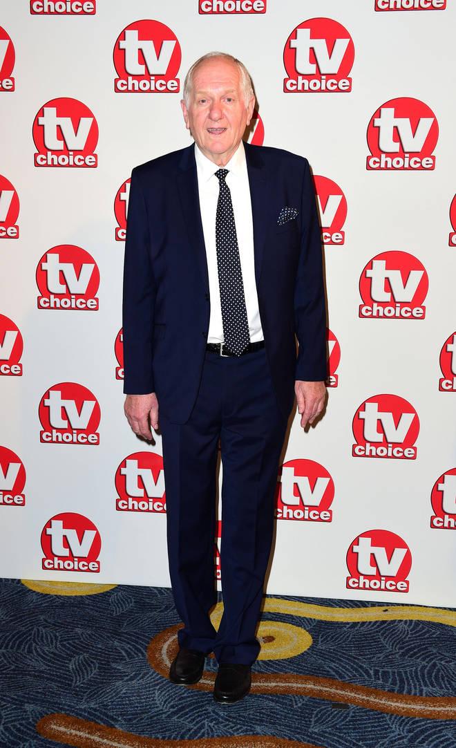 Duncan Preston played Laurel's dad Doug Potts in Emmerdale