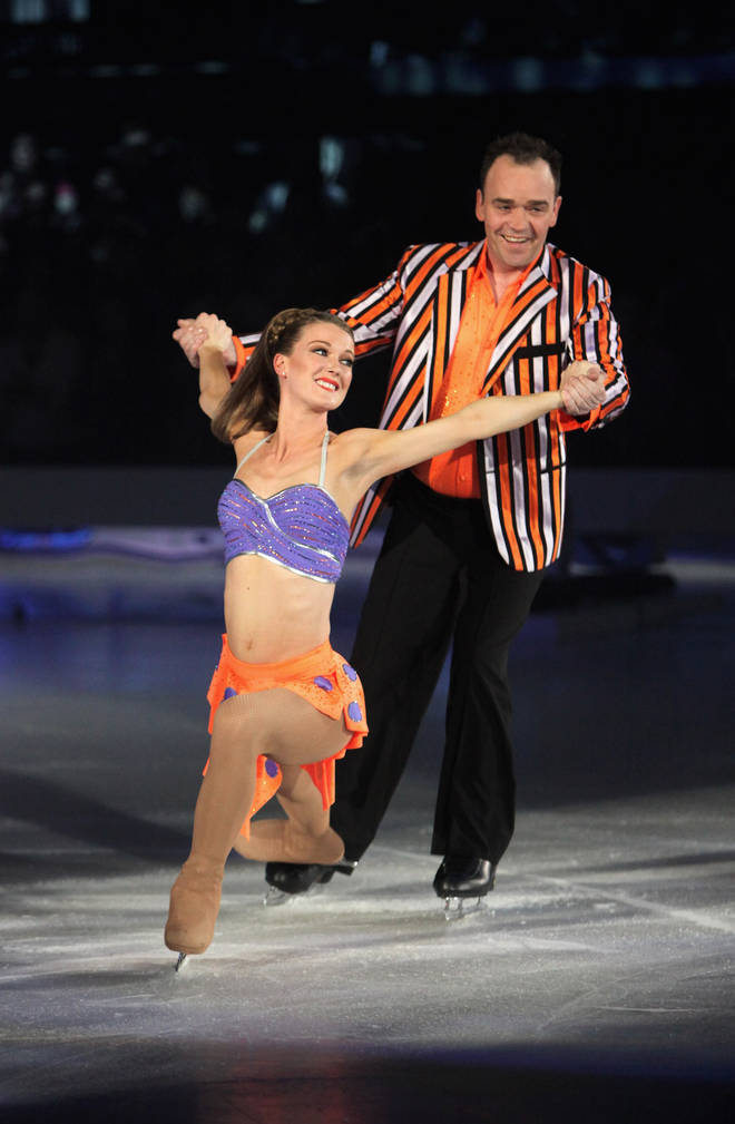 Todd Carty appeared on Dancing on Ice