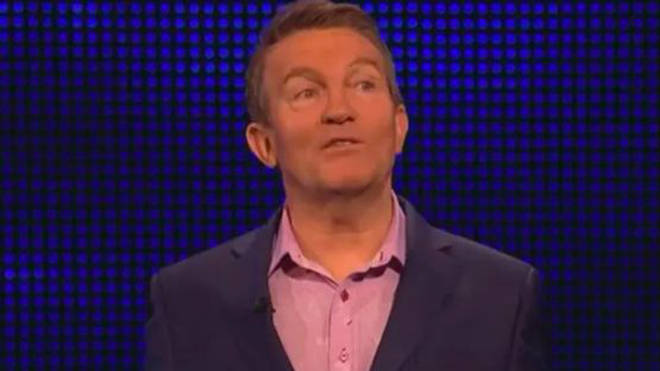 Bradley Walsh was shocked after hearing one tough question