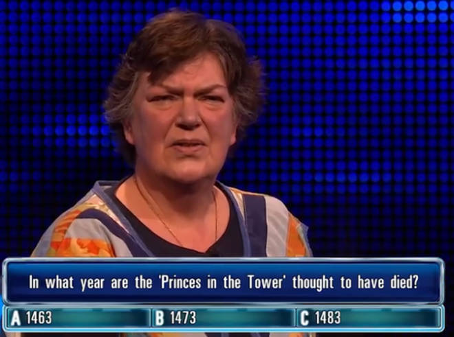 Jill from The Chase was confused by one question