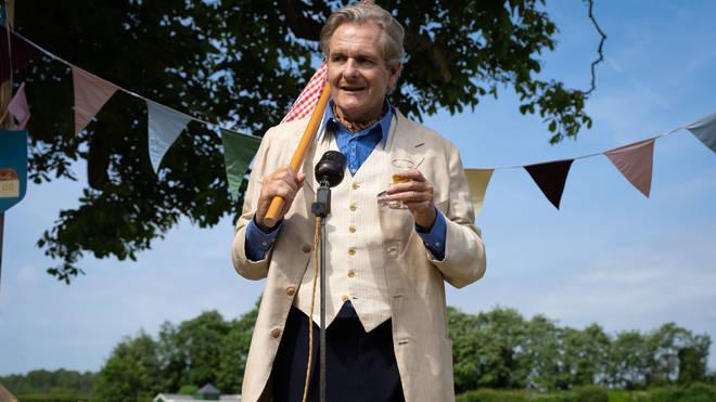 Robert Bathurst as Johnny Delamere in The Larkins
