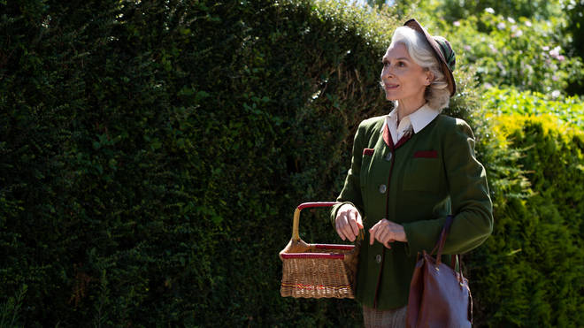 Amelia Bullmore as Miss Edith Pilchester in The Larkins
