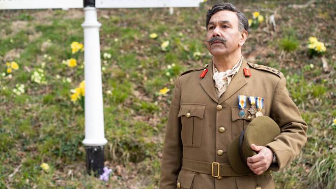 Kriss Dosanjh as Brigadier in The Larkins