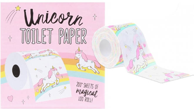 Unicorn toilet paper anyone?