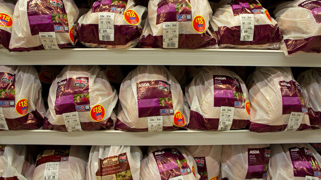 There are fears of Christmas dinner shortages