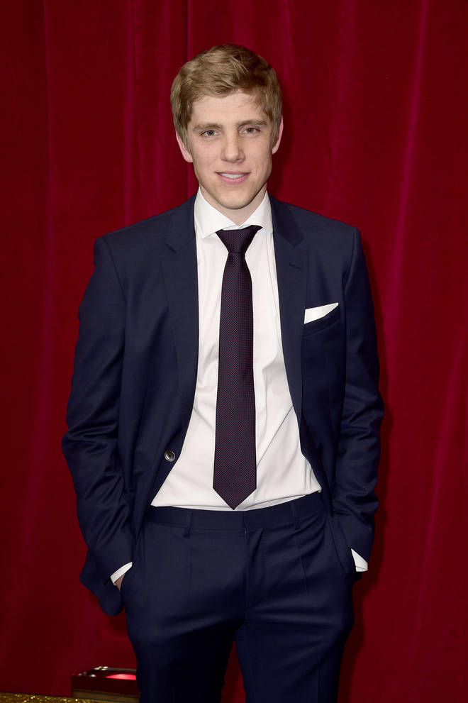 Ryan Hawley played Robert Sugden in Emmerdale for five years