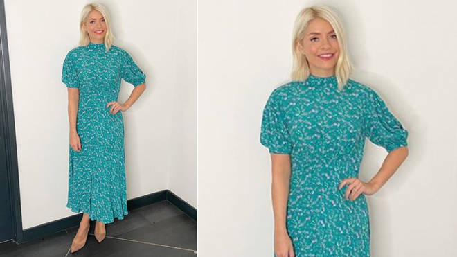 Holly Willoughby is wearing a dress from Ghost