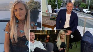 Samantha Harvey and Cameron Dunne were matched on MAFS Australia