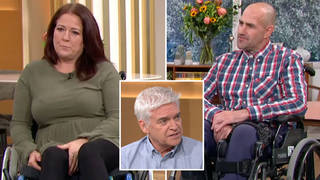 The couple shared their story on This Morning yesterday