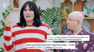 Bake Off was hit by more technical issues this week