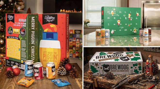 We've rounded up some of the best beer advent calendars for Christmas 2021