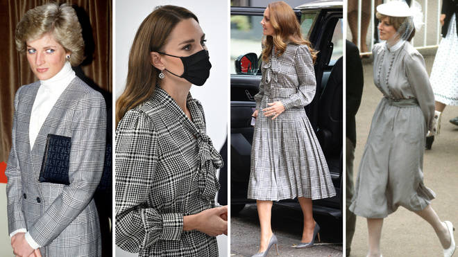 Did Kate take inspiration from Princess Diana for this look?