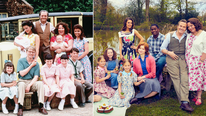 The Larkins is a remake of The Darling Buds of May