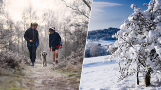 Snow could fall in the UK later this month