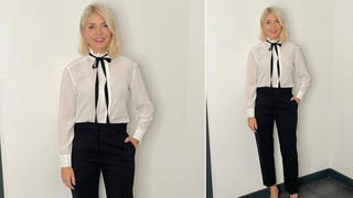 Holly Willoughby's outfit is from Sandro Paris