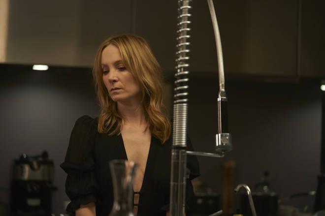 Joanne Froggatt has the role of Angela Black