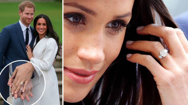 Everything you need to know about Meghan Markle's iconic engagement ring