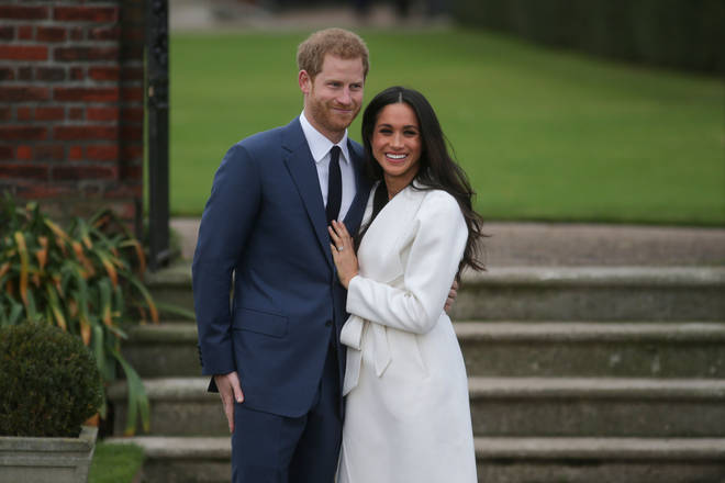 The Duchess of Sussex's engagement ring is rumoured to have cost £135,000