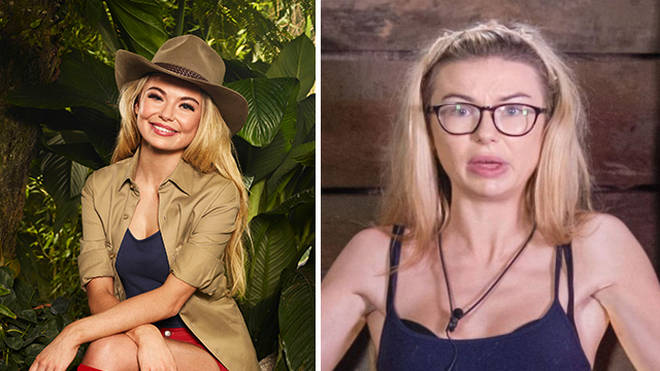 Georgia Toffolo looked very skinny at the end of her stint in the jungle