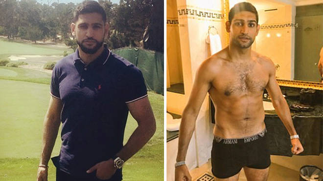 Amir couldn't believe how much weight he'd lost during his time the jungle