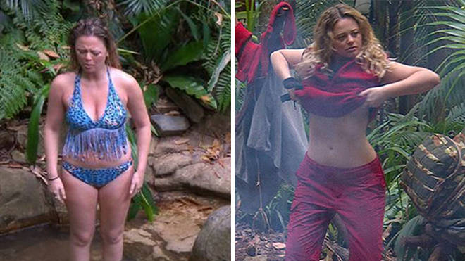 Emily Atack has only spent a few days in the jungle so far