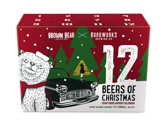 Aldi's beer advent calendar is a lovely gift to give in advance