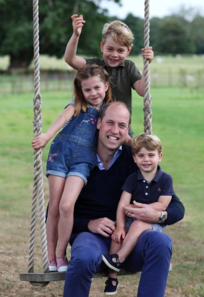 Kate Middleton will often take family portraits for special occassions