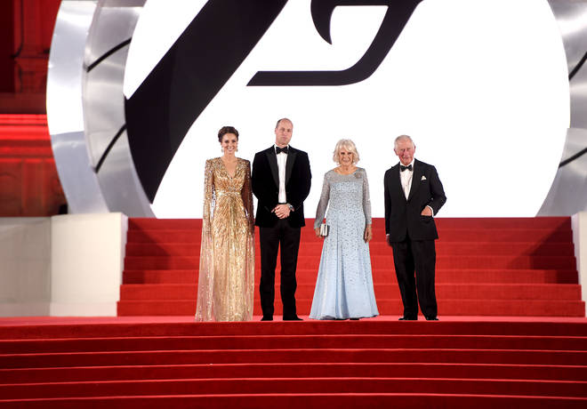 The royals recently broke royal protocol by posing for pictures on the red carpet