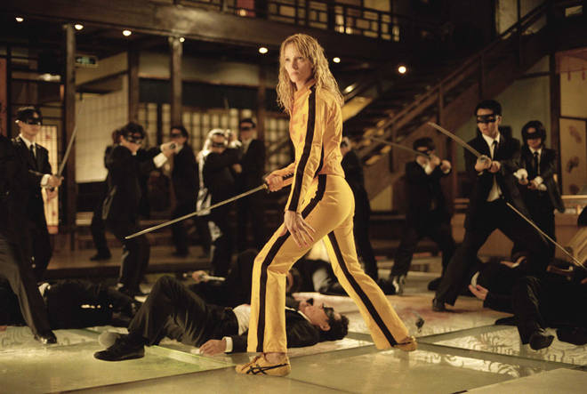 Team a blonde wig with a yellow jumpsuit and you're set to go as The Bride from Kill Bill