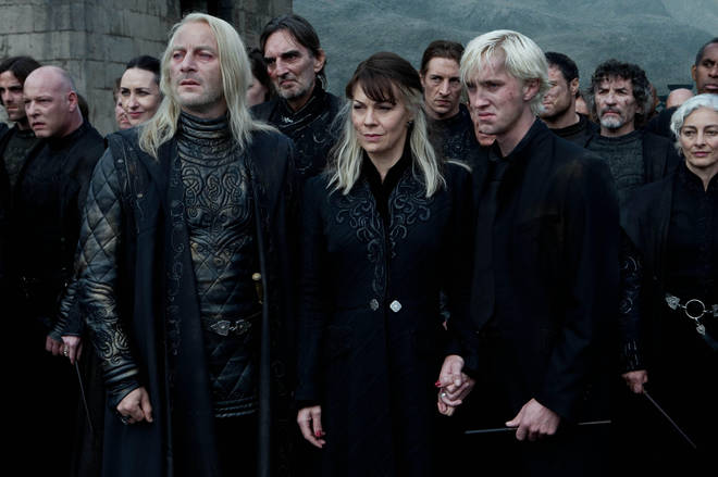 Another terrifying character from the Harry Potter universe, Narcissa Malfoy is a great look for Halloween