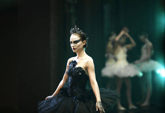 This Black Swan look is sure to creep out your friends and family