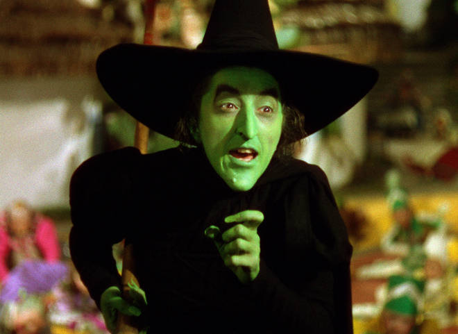 You could easily glam-up this Wicked Witch of the West look