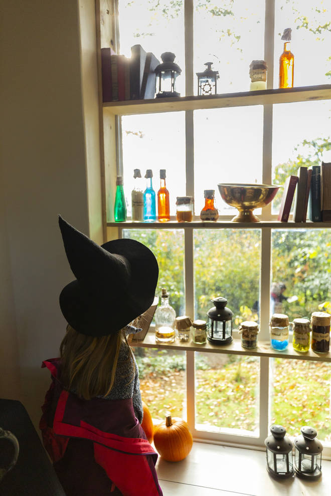 Kids can get hands-on in a potion making workshop