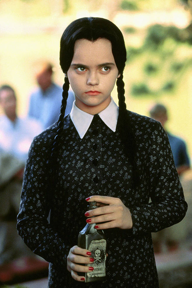 Wednesday Addams – a classic look easily created with some plaits and a black dress